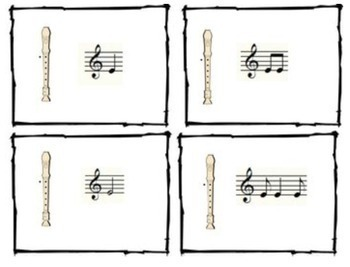 Recorder Songs and Activities for B, A, G, and E