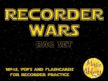 Recorder Wars {BAG Set}