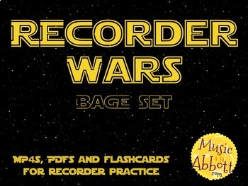Recorder Wars {BAGE Set}