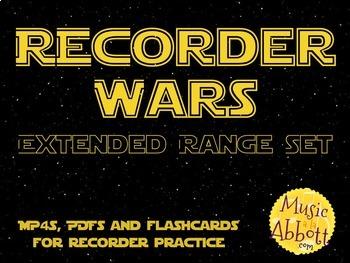Recorder Wars {Extended Range Set}