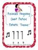 Recorder fingering chart {patriotic theme]