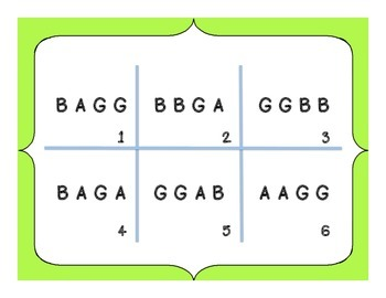 Recorder game using B, A, and G!