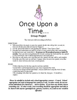 Recording - Group Project - Once Upon a Time