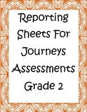 Recording Sheets for Journey Assessments
