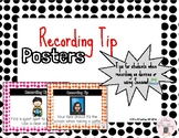 Recording Tip Posters