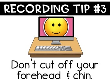 Recording Tips for Students
