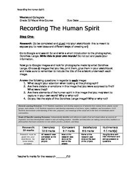 Recording the Human Spirit