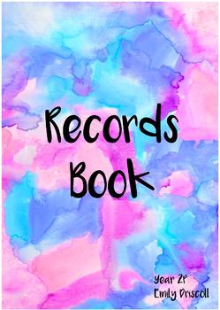 Records Book