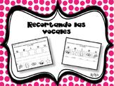 Recortando las Vocales