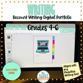 Recount Digital Writing Portfolio for Distance Learning