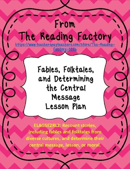 Recount Fables and Folktales