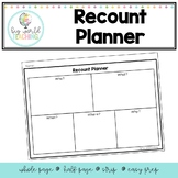 Recount Planner Template