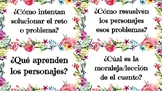 Recount Question Cards (Spanish)