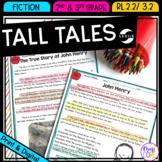 Recount Stories: Tall Tales - RL.2.2 & RL.3.2 - Printable & Digital RL2.2 RL3.2