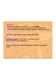 Recount Writing Interactive Whiteboard Activity
