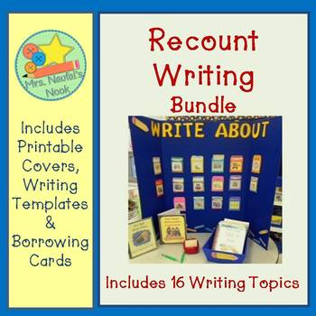 Recount Writing Prompts Bundle