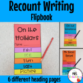 Recount and Retell Writing Flip Book