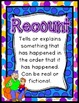 Recount Writing Pack {4 anchor charts, 5 differentiated templates}