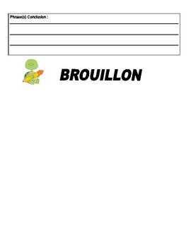 Recount Writing Package (en français)