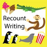 Recount Writing Posters (Australian/ British/ NZ version)