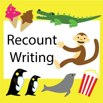 Recount Writing Posters (US version)