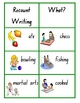 Recount Writing Word Wall - Picture Aides - Literacy Centre - 22 pages