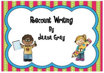 Recount Writing - Zoo