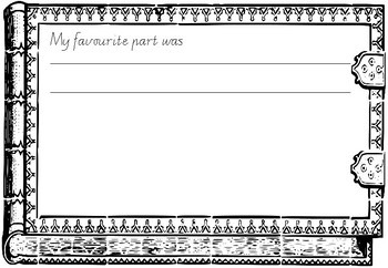 Recount and Reflection Template