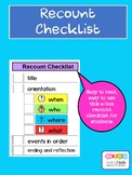 TEXT TYPE RECOUNT CHECKLIST