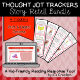 Reading Response: Recounting Stories - Comprehension Sticky Note Trackers