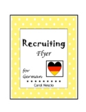 Recruiting Flyer For German