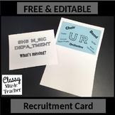 Recruitment Card
