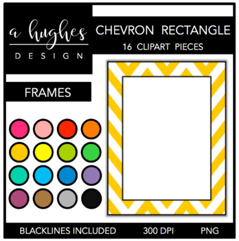 Rectangle Chevron Frames {A Hughes Design}