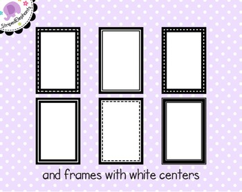 Rectangle Digital Frame Collection 1