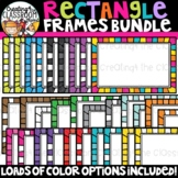 Rectangle Frames Clipart {Sellers Clipart}