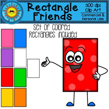 Rectangle Friends Clip Art
