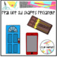 Rectangle Real Life Objects 2D Shapes Clip Art