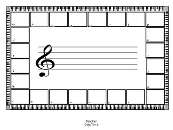 Rectangle Rug Seating Chart