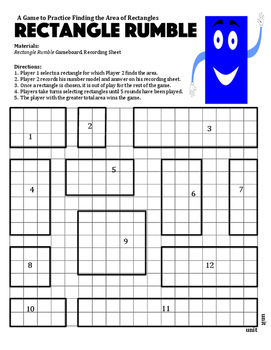 Rectangle Rumble - A 2-Player Game to Practice Finding the