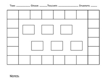 Rectangle Seating Chart (or Music Carpet)