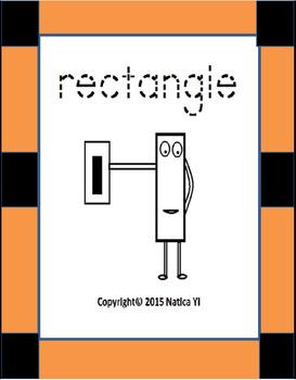 Rectangle Shapes Identification Graphic Organizer