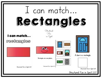 Rectangles Adapted Book