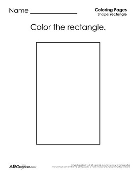 Rectangles: Tracing and Coloring