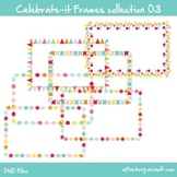 Rectangular Frames and borders Bunting Clipart