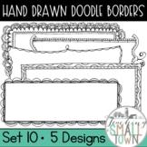 Rectangular Doodle Frames [Set 2] 20 Frames for Commercial Use