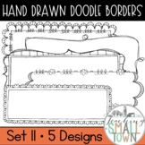 Rectangular Doodle Frames // Personal and Commercial Use /
