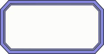 Rectangular Frames/ Banners  - 12 total - clip art