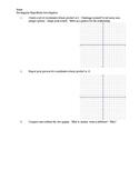 Rectangular Hyperbola Investigation