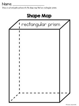 3D Shape Rectangular Prism