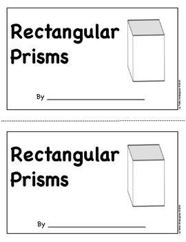 Rectangular Prism Emergent Reader
